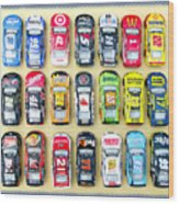 Nascar Collection Wood Print