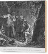 Nat Turner (1800-1831) Wood Print by Granger