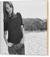 Natalie Portman Wood Print