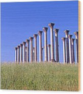 National Capitol Columns, National Wood Print