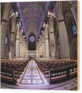 National Cathedral - 3 Wood Print