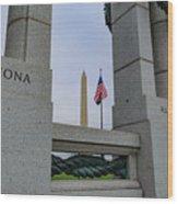 National World War II Memorial Wood Print
