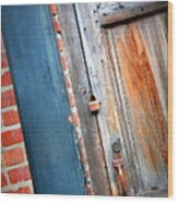 New Orleans Door 2 Wood Print