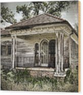 New Orleans House No. 7 Wood Print