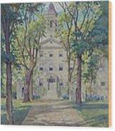 New York City Hospital Wood Print