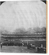 New York: Polo Grounds Wood Print