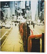 New York Times Square Wood Print by Dapixara Art