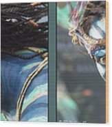 Neytiri - Gently Cross Your Eyes And Focus On The Middle Image Wood Print