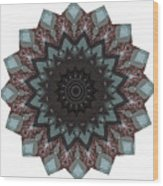10448 Night Shift Kaleidoscope Wood Print