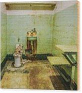 Alcatraz Cell 1 Wood Print