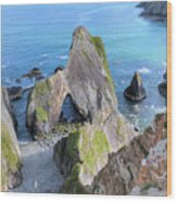 Nohoval Cove - Ireland Wood Print