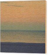 Not quite Rothko - Breezy Twilight Wood Print