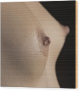 Nude Girl Breast And Nipple 1277.02 Wood Print