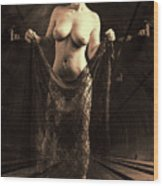 Nude Woman Model 1722  027.1722 Wood Print