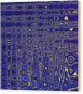 Oak Ball And Metal Plate Abstract Wood Print