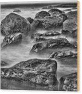Ocean Break Wood Print