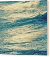 Ocean Serenity Wood Print