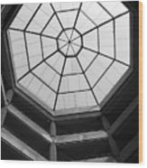 Octagon Skylight Wood Print