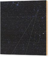 Octans, Apus, South Celestial Pole Wood Print