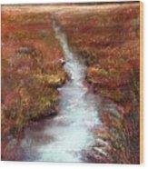 October Goshen Creek Wood Print