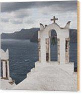 Oia Santorini 0989 Wood Print