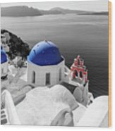 Oia, Santorini / Greece Wood Print