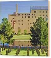 Oklahoma City National Memorial Wood Print