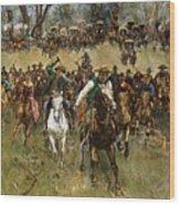 Oklahoma Land Rush, 1891 Wood Print