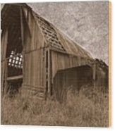 #210 Old Barn Wood Print