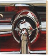 Old Car Grille Wood Print