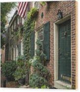 Old City Philadelphia Wood Print