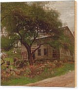 Old Farm House In The Catskills Wood Print