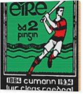 old Irish postage stamp Wood Print