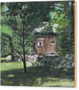 Old Redding Road, Aspetuck Wood Print