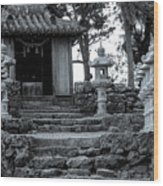 Old Shrine Wood Print