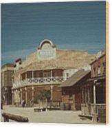Old Tucson Wood Print