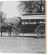 Omnibus, C1899 Wood Print