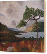 On The Moor Wood Print