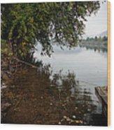 On The Susquehanna Wood Print