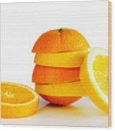 Oranje Lemon Wood Print