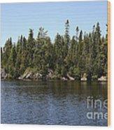 Orphan Lake, Canada Wood Print