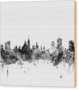 Ottawa Canada Skyline Wood Print