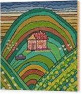 Our Farm Wood Print