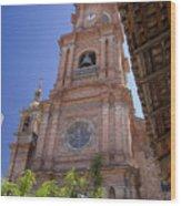 Our Lady Of Guadalope, Puerto Vallareta Wood Print