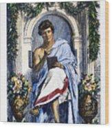 Ovid (43 B.c.-c17 A.d.) Wood Print