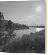 Oxbow Bend Grand Teton National Park  Wood Print