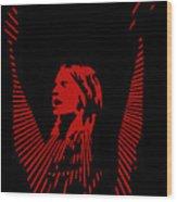 Ozzy Osbourne Wood Print
