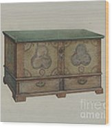 Pa. German Chest Wood Print