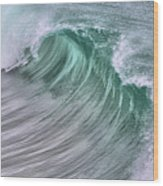 Pacific Waves Wood Print