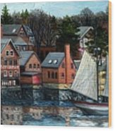 Paint Factory, Gloucester, Ma Wood Print